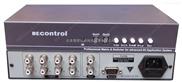 4进1出音频切换器  立体声音频 带RS232控制
