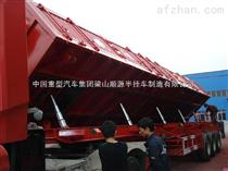 輕型側翻半掛車公司可生產11米及13米側翻自卸半掛車