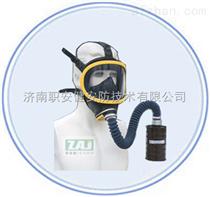 厂家直销济南职安健短管式防护面罩MFT2防毒面具  配中型滤毒罐