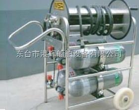 辽源卧式四瓶推车式长管呼吸器生产商