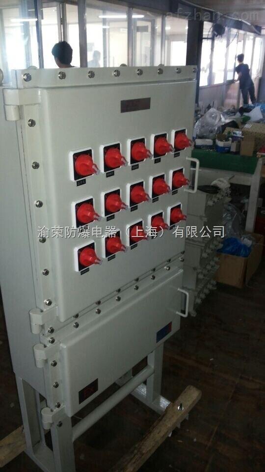 渝荣IIC级钢板防爆箱按图设计加工定做 上海防爆控制箱特价