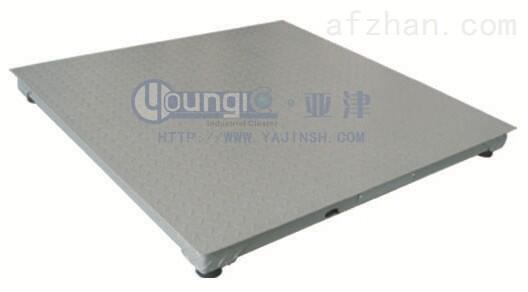 上海亚津定制生产电子地磅3吨单层