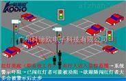 行人闯红灯抓拍系统,高清卡口抓拍摄像机
