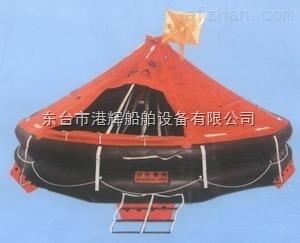 长期供应气胀式抛头式救生筏