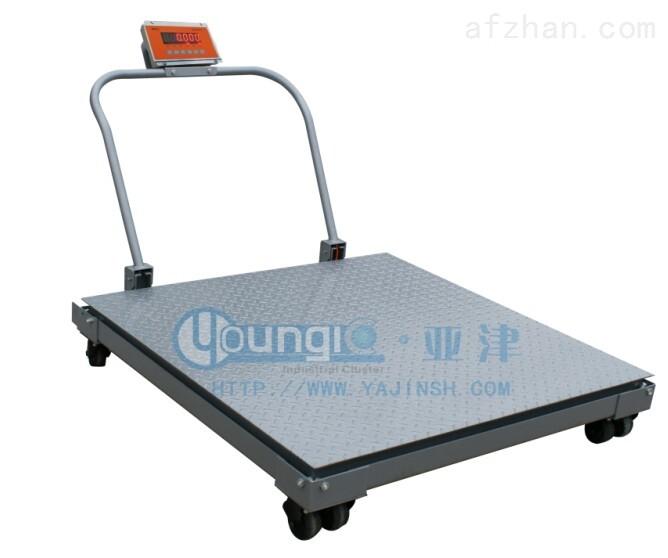 120*120台面CE认证地磅SCS-P722-NN-1T移动式电子磅