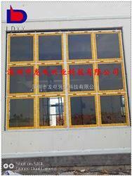 珠海中悬轴泄爆窗 化学品仓库高品质泄压窗