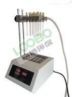 路博LB-K200(B) 干式氮吹儀LED顯示屏,溫度同步顯示時間遞減顯示,操作簡單方便