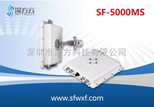 千兆无线传输 自组网无线网桥 高带宽无线监控设备