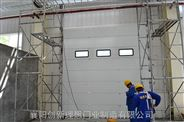 工业门厂家湖北黄冈武汉工业提升门价格