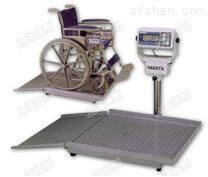 韩凯士医院轮椅秤,300kg轮椅体重秤,轮椅电子秤带RS232接口