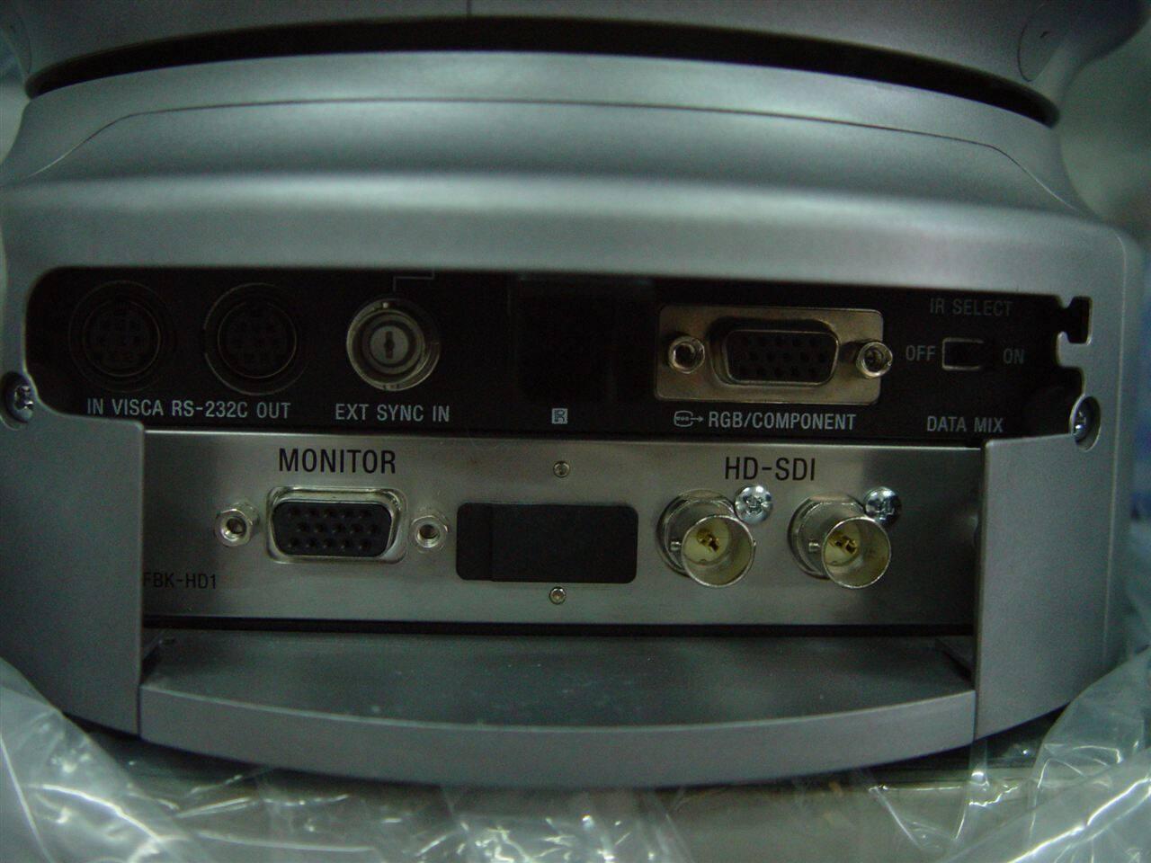三片1/3 英寸高清ccd视频会议摄像机brc-h700