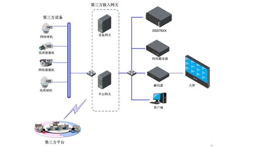 大华网络结构拓扑图
