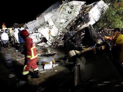 台湾飞机失事再引关注航空安全运输系统