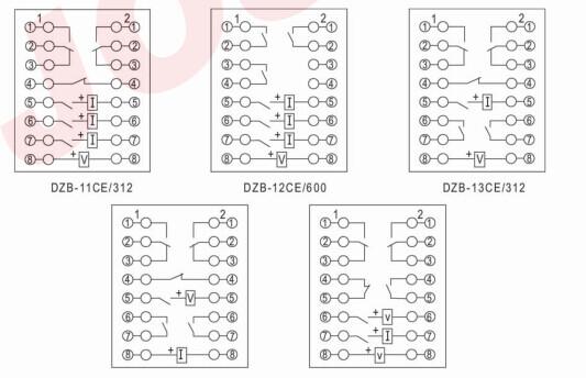 具有保持绕组,用于直流操作的继电器保护回路中,以增加保护继电器的触点数量和触点量,并提高触点工作的可靠性. 二、主要技术参数 1.额定工作电压:220V、110V、48V、24V。 2.额定工作电流:0.25A、0.5A、1A、2A、4A、8A。 3.额定保持电压:220V、110V、48V、24V。 4.额定保持电流:0.