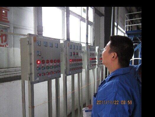 动力配电柜接线