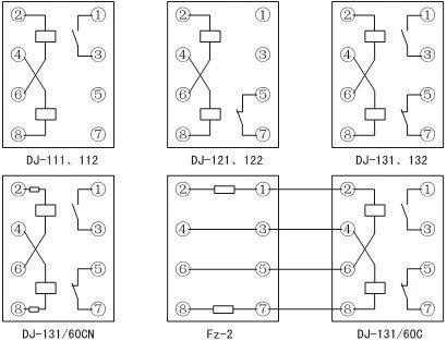 dj-122---dj-122电磁式电压继电器