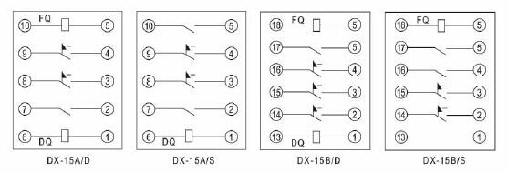 dx-15a/d-dx-15a/d信号继电器-上海约瑟继电器厂