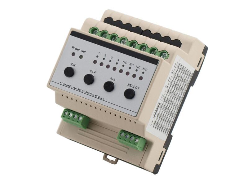 et-0416a-4路16a智能开关控制继电器模块灯光照明